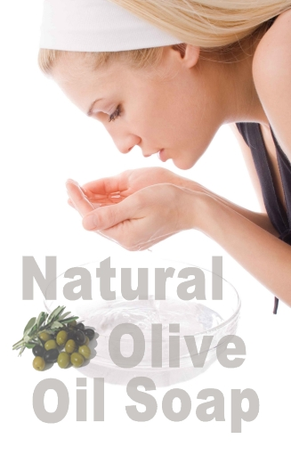 Natural Olive Oil Soap promotes beautiful and healthy skin